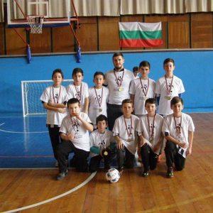II-то място на турнир по футбол на малки вратички за ученици 5-7 клас, 2018 г.