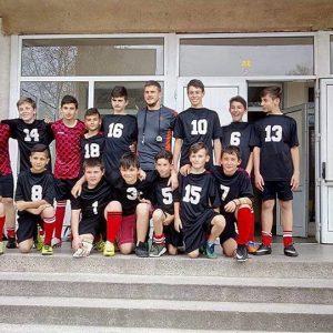 I-во място на областен етап на ученически игри по футбол 5-7 клас, 2018 г.